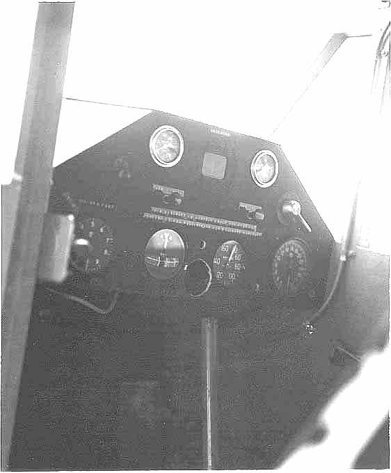 N2936 cockpit